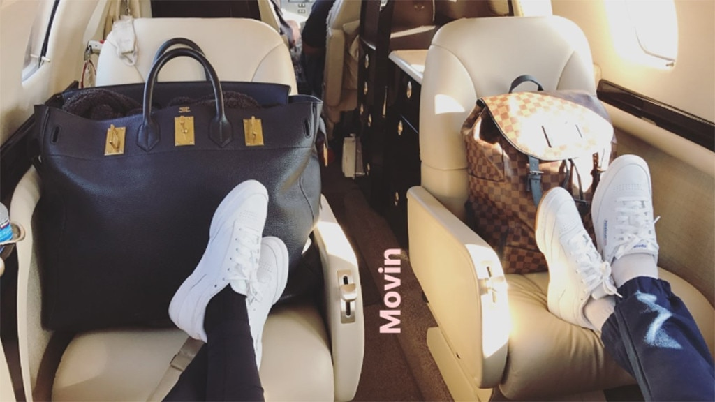 Sofia Richie, Scott Disick, Private Jet, Cabo, Vacation, Instagram