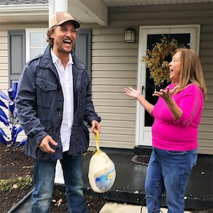 Matthew McConaughey, Turkeys, Wild Turkey, Birthday, Kentucky