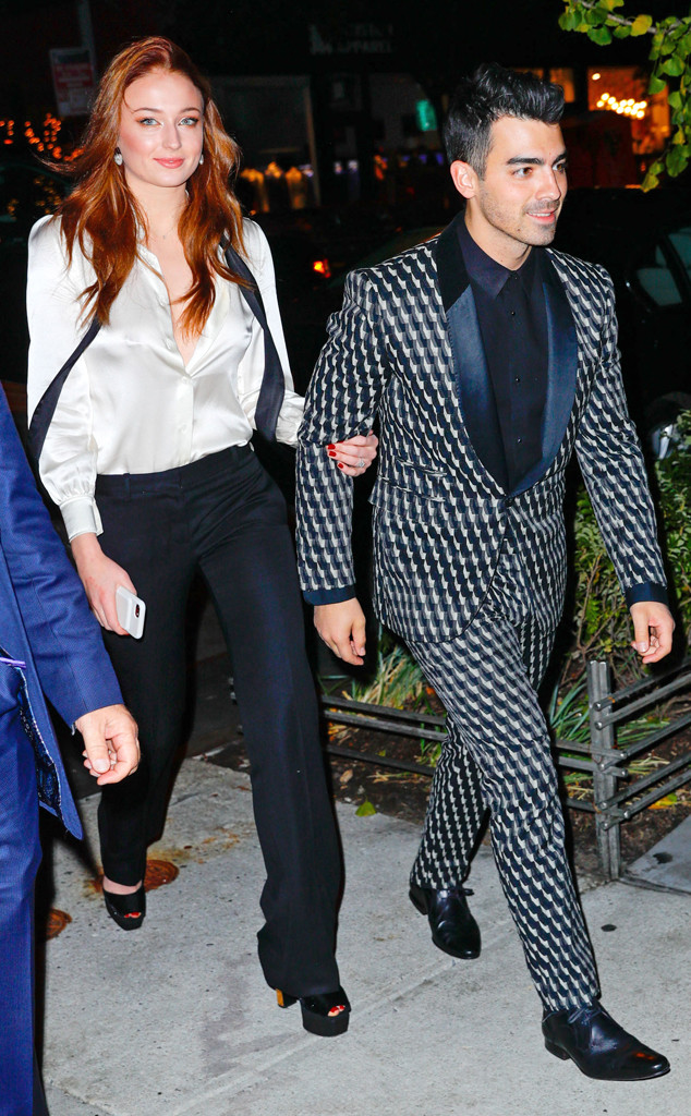 Joe Jonas, Sophie Turner, engagement party