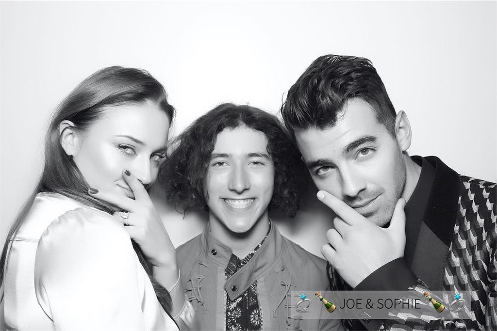 Sophie Turner, Joe Jonas, Frankie Jonas, Engagement Party