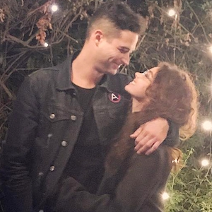 Wells Adams, Sarah Hyland, Instagram