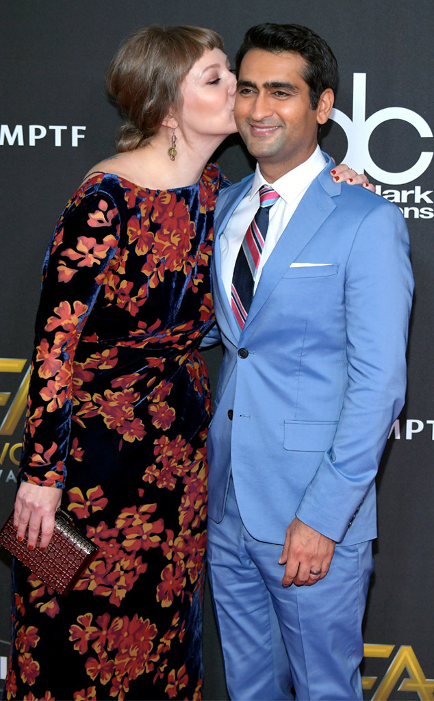 Kumail Nanjiani, Emily Gordon, 2017 Hollywood Film Awards