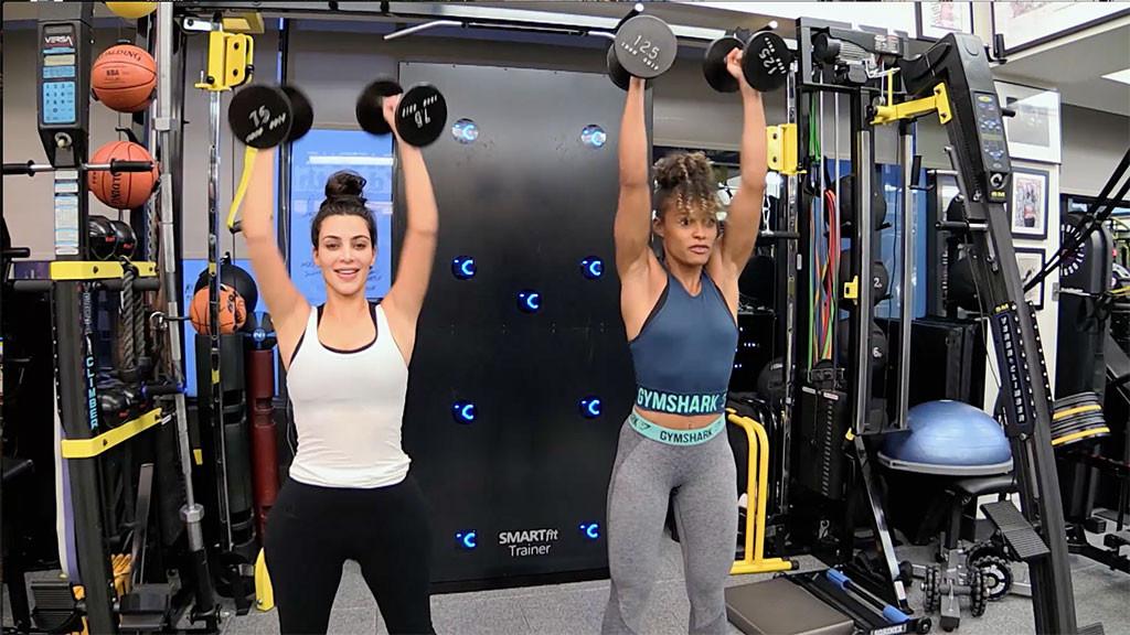 Kim Kardashian, Melissa Alcantara, Trainer, KUWTK 1406