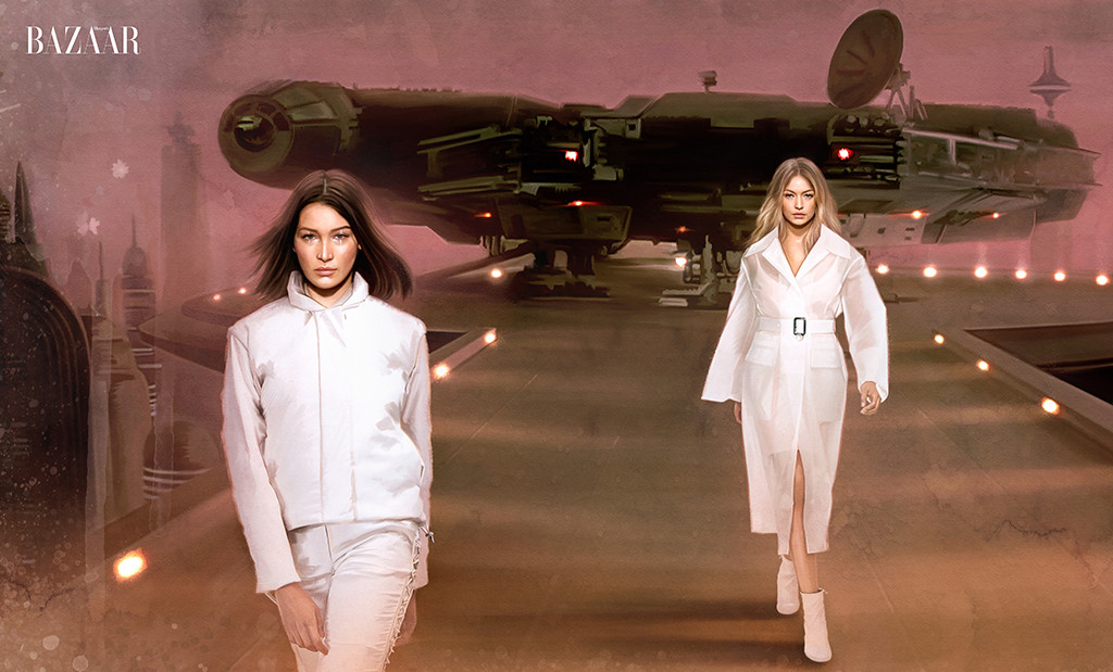 Gigi Hadid, Bella Hadid, Harper's Bazaar