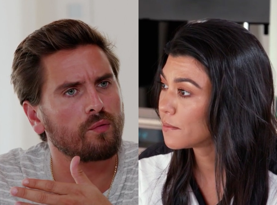 Scott Disick, Kourtney Kardashian