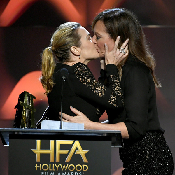 Kate Winslet, Allison Janney, 2017 Hollywood Film Awards