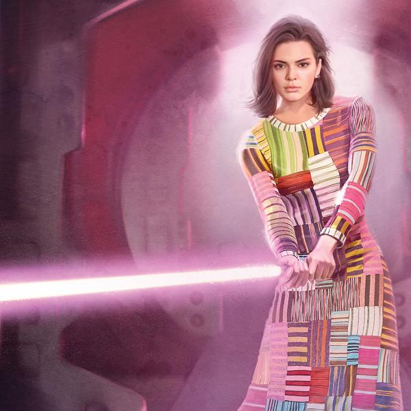 Kaia Gerber, Gigi Hadid and Kendall Jenner Join the <i>Star Wars</i> Universe