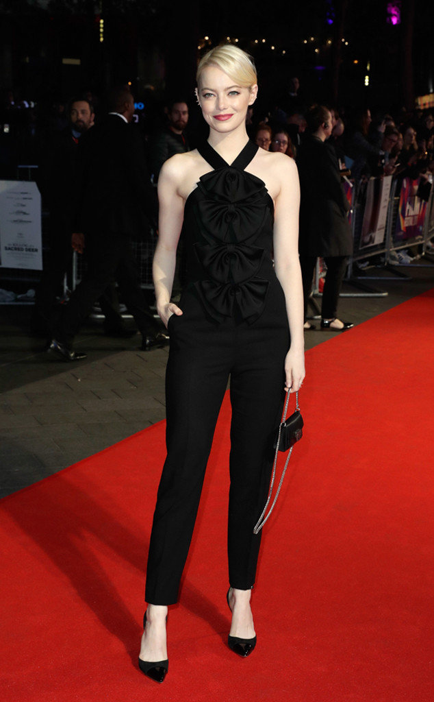 Platinum Perfection from Emma Stone's Best Looks