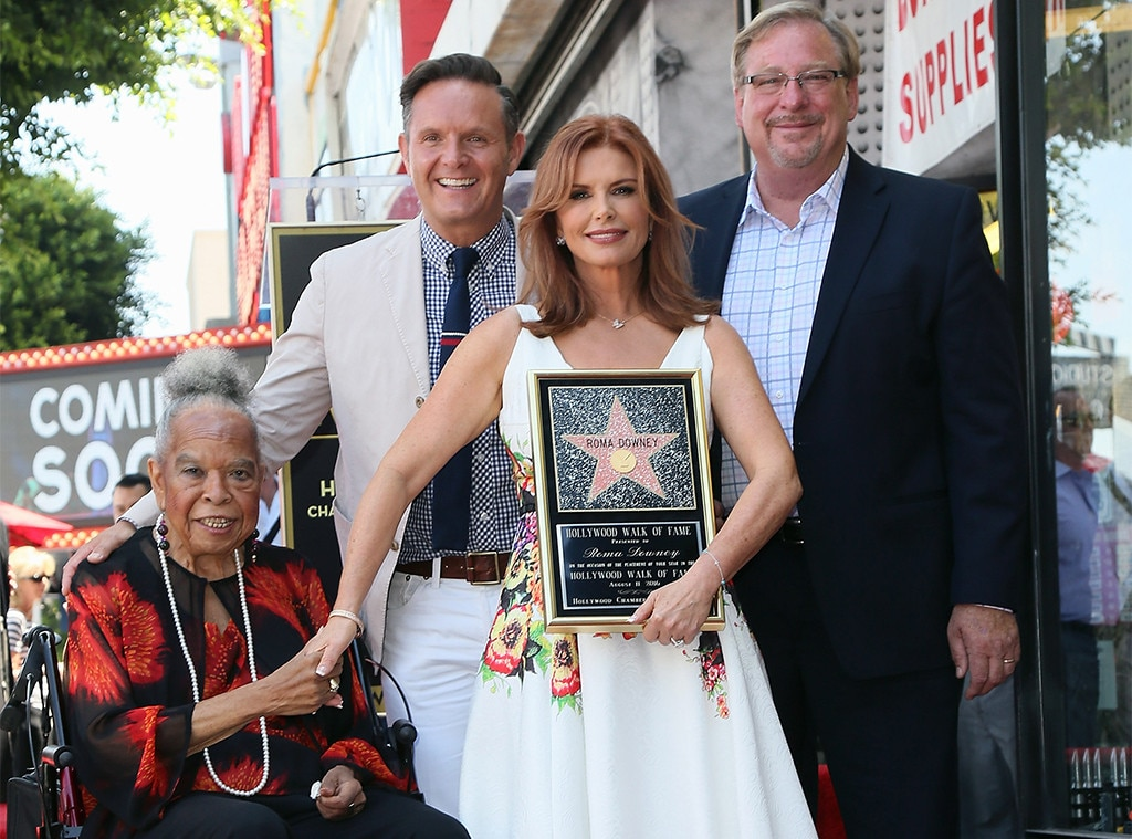 Della Reese, Mark Burnett, Roma Downey, Rick Warren