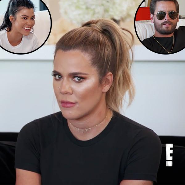 Khloe Kardashian, Kourtney Kardashian, Scott Disick