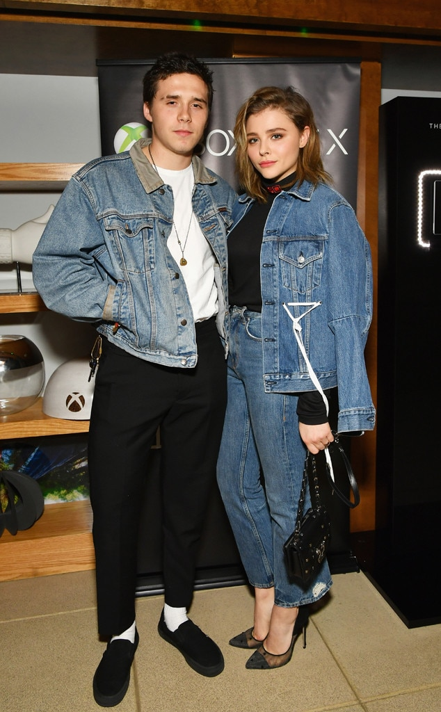 Brooklyn Beckham & Chloe Grace Moretz