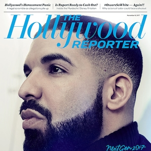 Drake, The Hollywood Reporter, Cover, November 8, 2017