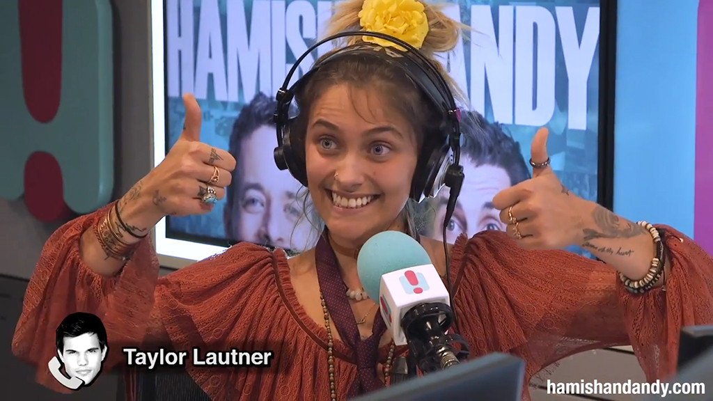 Paris Jackson, Taylor Lautner, Hamish and Andy, Australian Accent