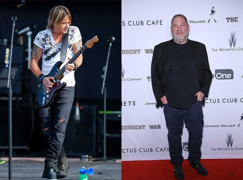 Keith Urban, Harvey Weinstein