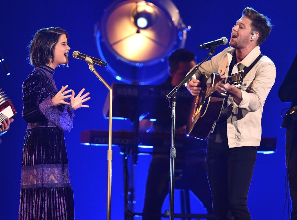Maren Morris, Niall Horan, 2017 CMA Awards, Show
