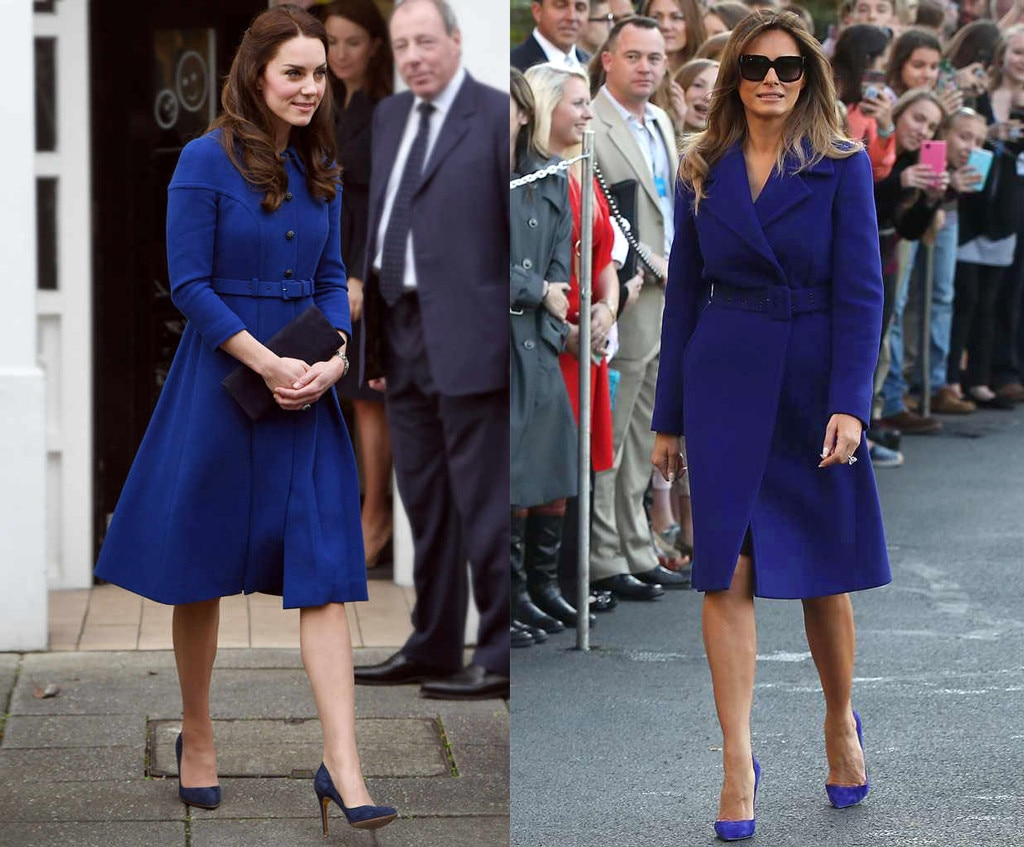 Kate Middleton or Melania Trump: Who Does the Coat Dress ...