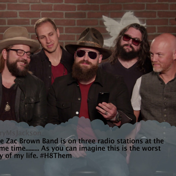 Zac Brown Band, Mean Tweets
