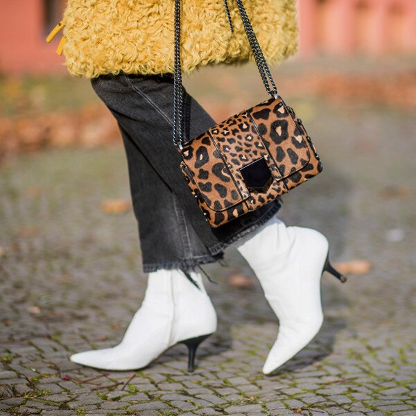 White Boots Are the New Black Boots for Fall