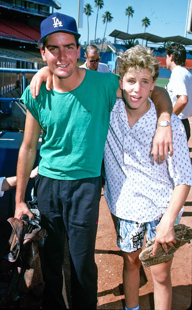 Charlie Sheen, Corey Haim