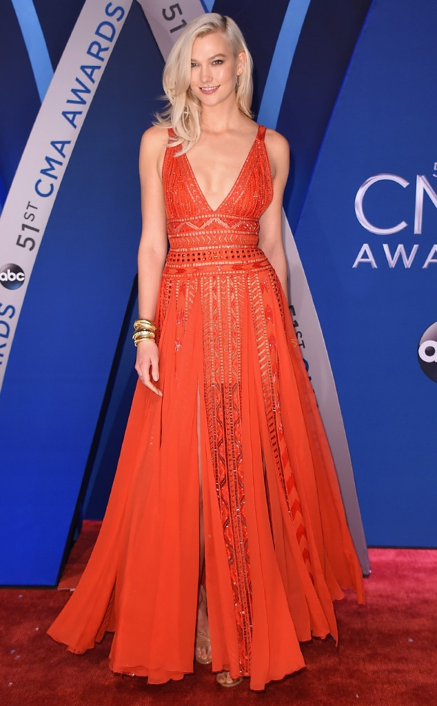 Karlie Kloss, 2017 CMA Awards