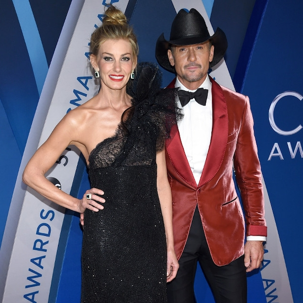 Faith Hill Tim Mcgraw From 2017 Cma Awards Red Carpet