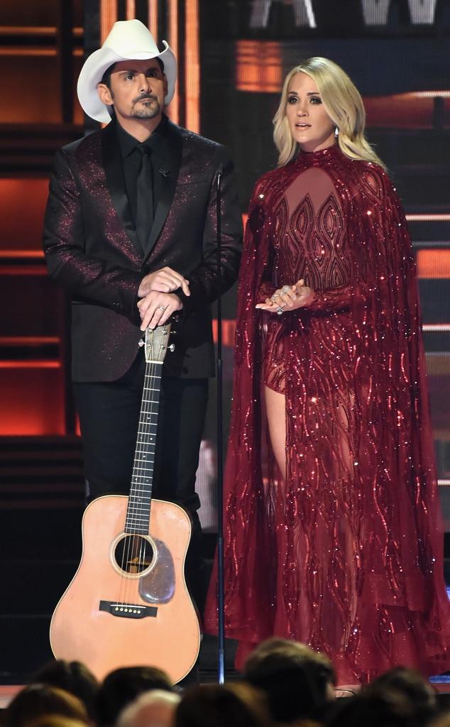 Brad Paisley, Carrie Underwood, 2017 CMA Awards