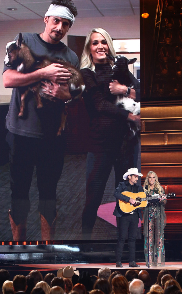 Brad Paisley, Carrie Underwood, 2017 CMA Awards, Show