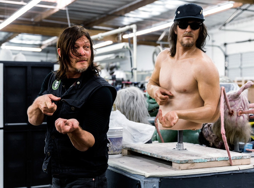 This Bts Look At Ride With Norman Reedus Proves The