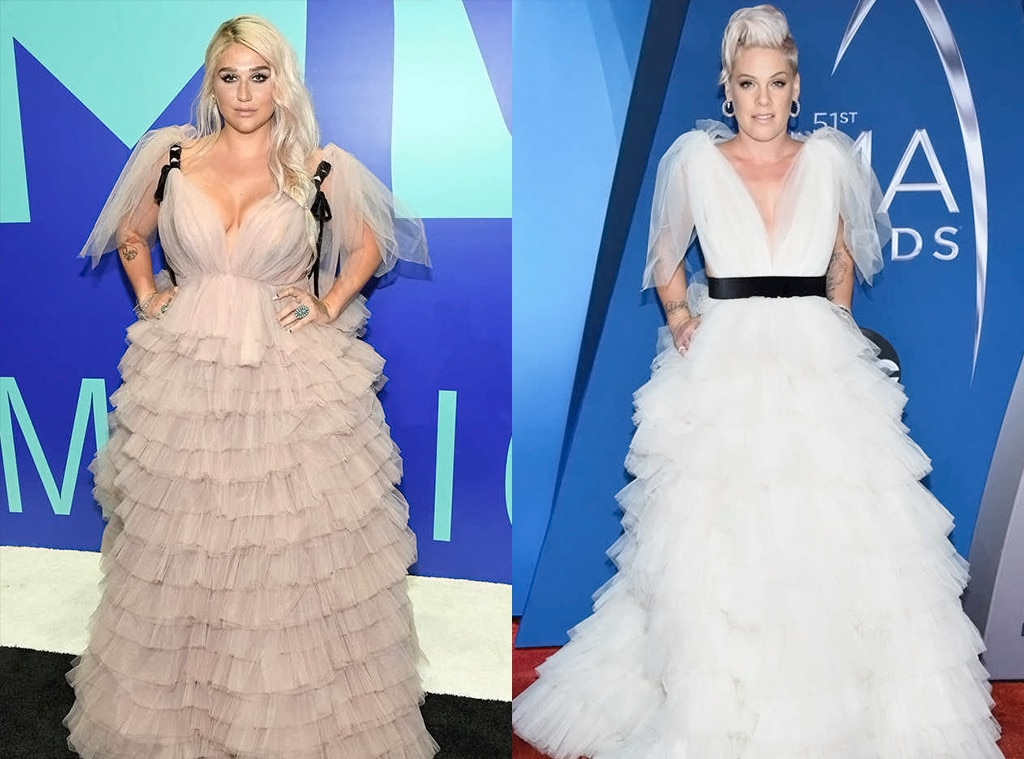 Kesha, Pink, 2017 CMA Awards
