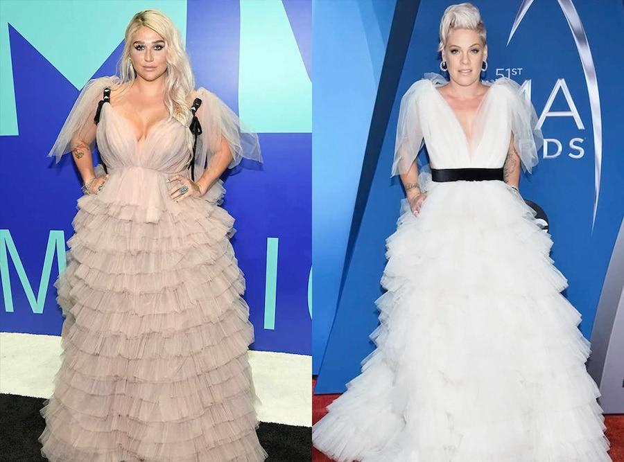 Kesha, Pink, 2017 CMA Awards