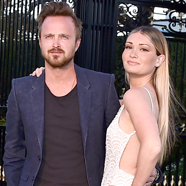 Aaron Paul, Lauren Parsekian, Burberry