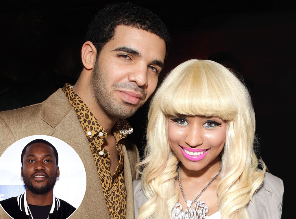 Drake, Lorde, Nicki Minaj, Meek Mill