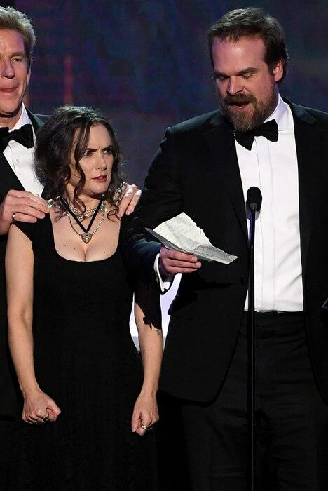 Winona Ryder, Stranger Things, 2017 SAG Awards, Winners