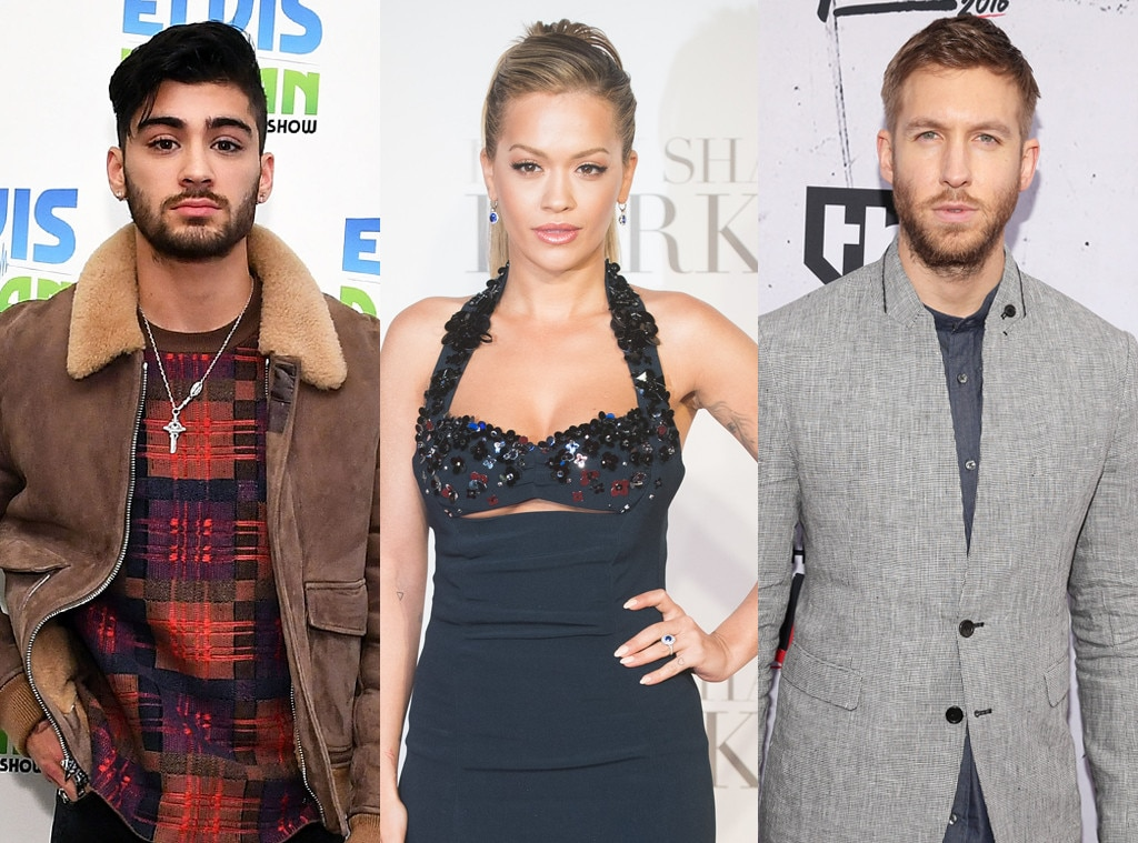 Rita Ora Comments On Ex-Boyfriend Calvin Harris' Twitter Feud With Taylor Swift And Zayn Malik Romance Rumors