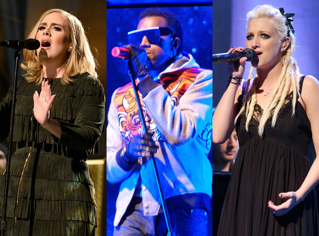 Adele, Kanye, Ashlee Simpson, SNL performances