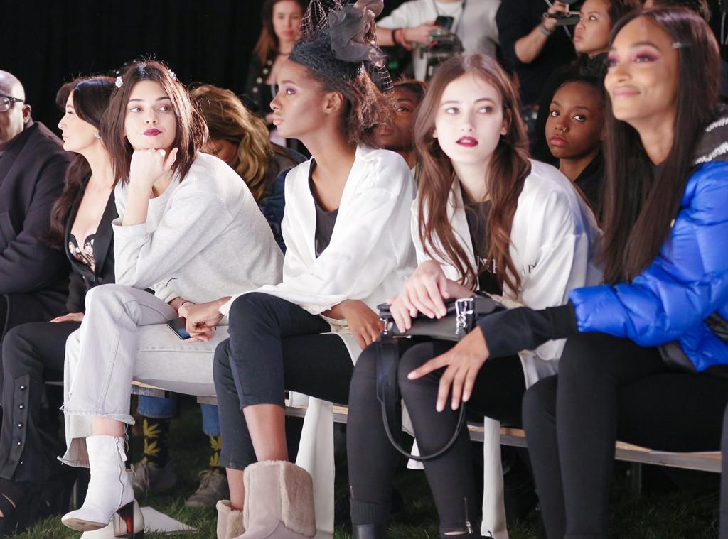 Jourdan Dunn & Kendall Jenner from New York Fashion Week ...