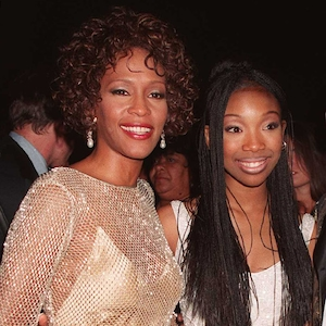 Whitney Houston, Brandy Norwood, Bobby Brown