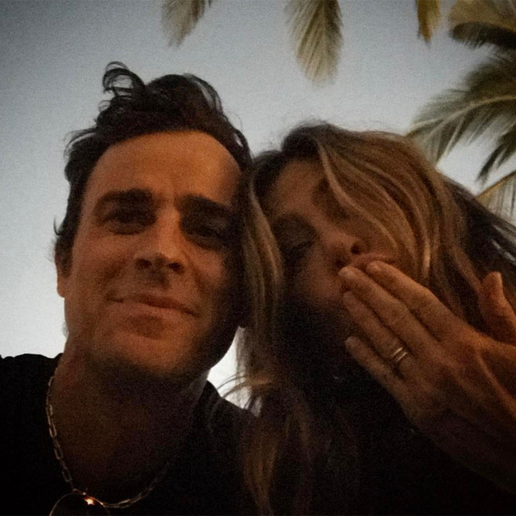Justin Theroux, Jennifer Aniston, Instagram