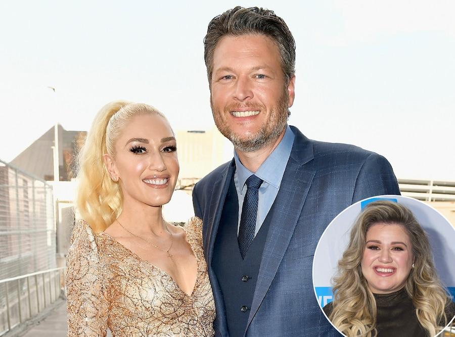 Gwen Stefani, Blake Shelton, Kelly Clarkson