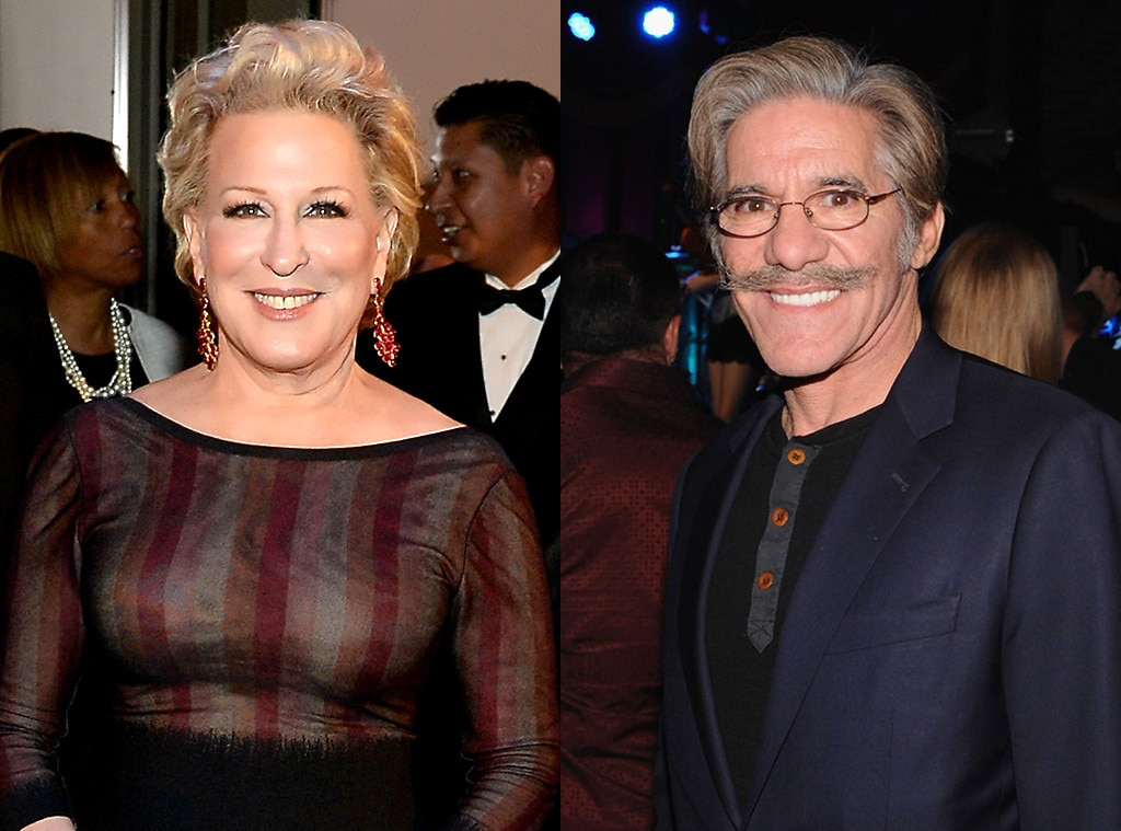 Bette Midler, Geraldo Rivera