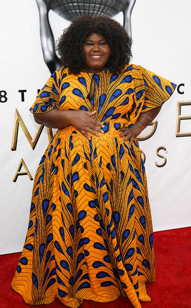 Gabourey Sidibe, 48th NAACP Image Awards