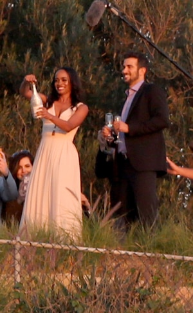 Rachel Lindsay, Bryan Abosolo, Engagement