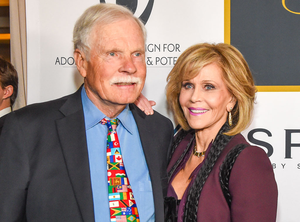 Jane Fonda, Ted Turner
