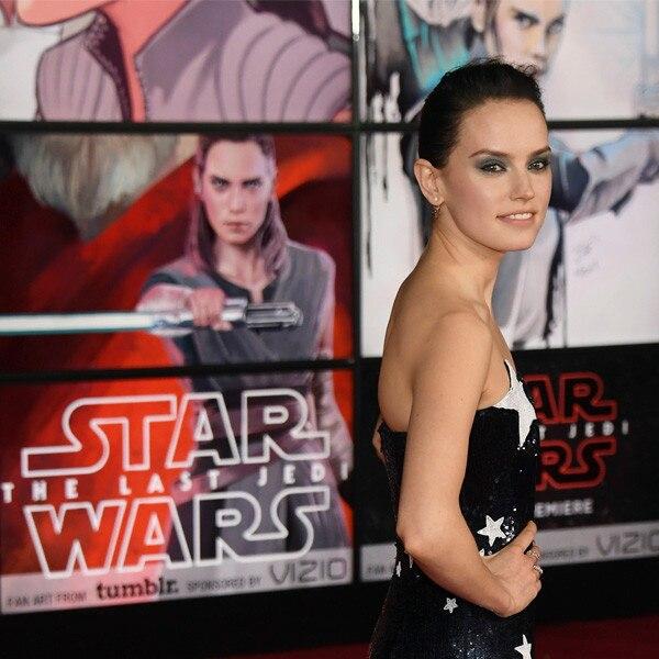 Daisy Ridley, Star Wars Premiere, 2017