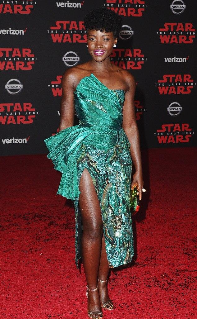 Lupita Nyong'o, Star Wars Premiere, 2017