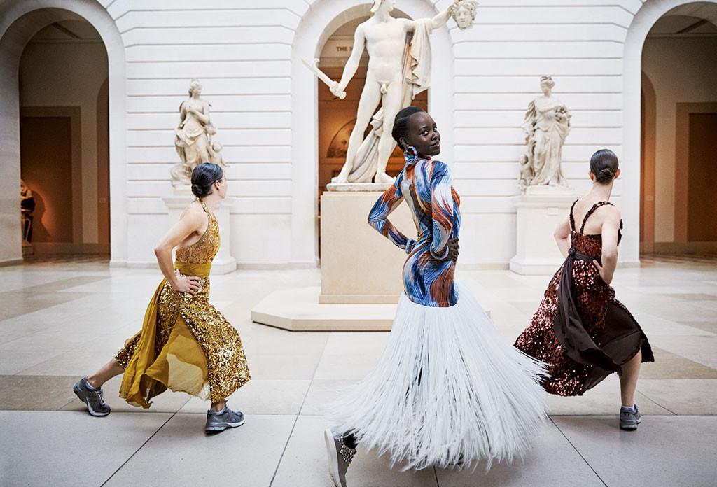 Lupita Nyong'o, Vogue, January 2018