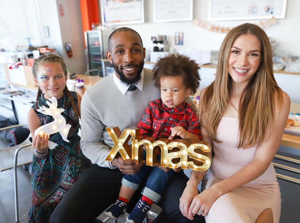 "Allison Holker, Stephen ""Twitch"" Boss, Christmas 2017"