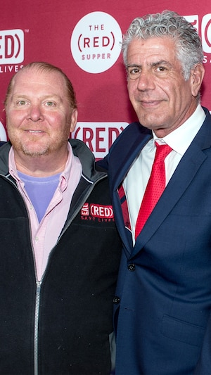Mario Batali, Anthony Bourdain