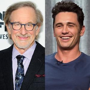 James Franco, Steven Spielberg