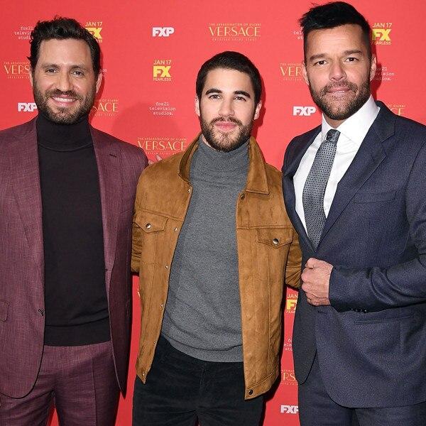 Edgar Ramirez, Darren Criss, Ricky Martin